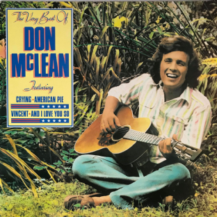 Don McLean ‎- The Very Best Of Don McLean (LP) (EX/EX-)